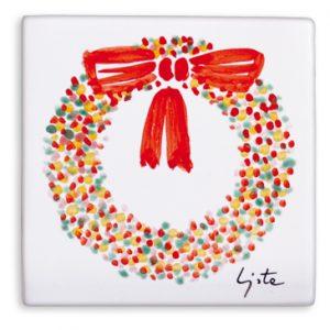 openonlus-bomboniere-solidali-ceramiche-artistiche-lista-fiocco-rosso