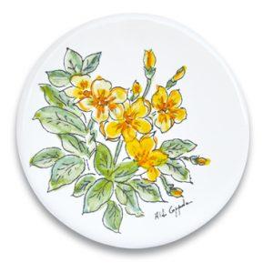 openonlus-bomboniere-solidali-formella-coppola-fiori-gialli