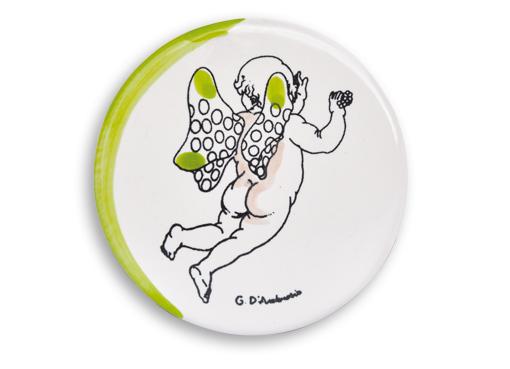 openonlus-bomboniere-solidali-formella-dambrosio-puttino-giallo