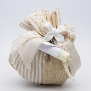 openonlus-bomboniere-solidali-sacchetto-beige-righe-bianche