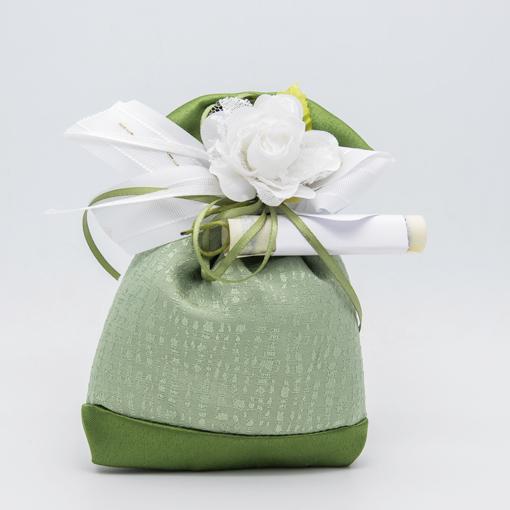 openonlus-bomboniere-solidali-sacchetto-raso-seta-verde