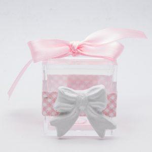 openonlus-bomboniere-solidali-scatolina-nastro-raso-rosa