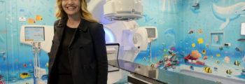 Il bunker di radioterapia diventa un acquario