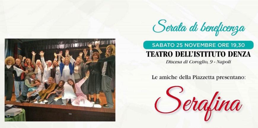 """""""Serafina"""": teatro e solidarietà si fondono"""